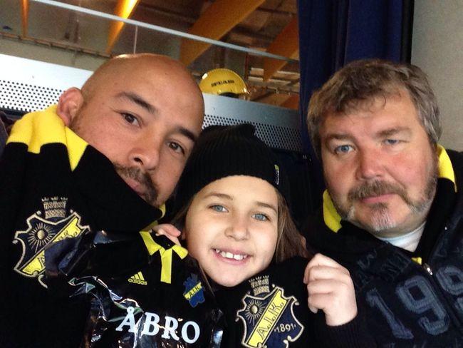AIK match Fotboll Friendsarena