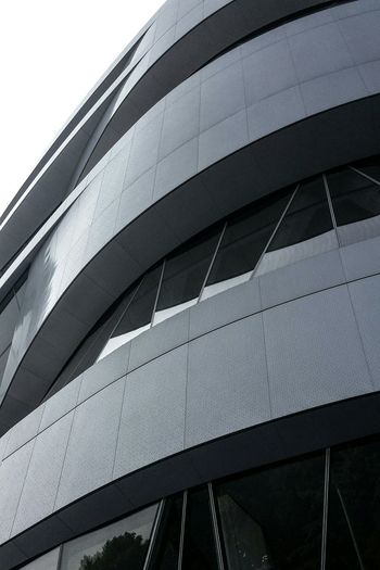 PicofthedayPicoftheday Mercedes_benz Mercedes Benz Museum Carsporn Sky Skyporn Supercars Glass Architecture