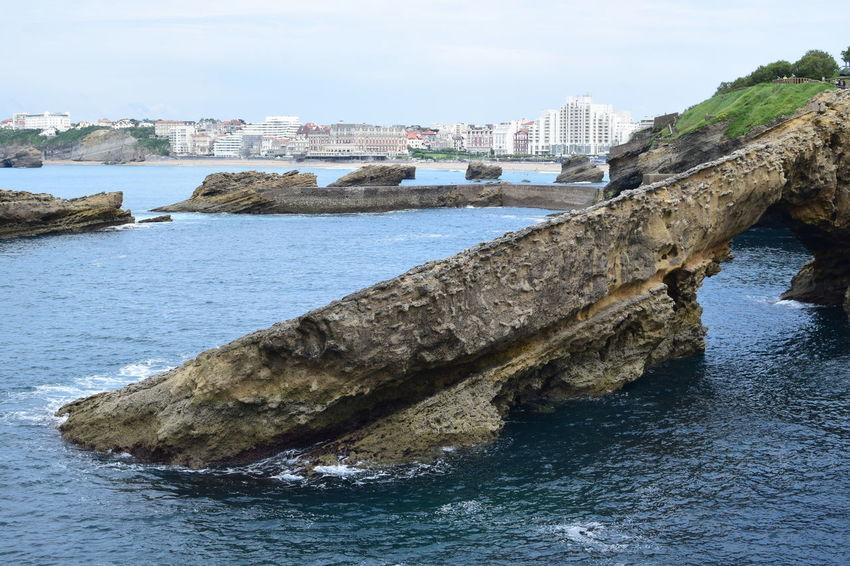 Biarritz, mai 2017. Biarritz Biarritz FRANCE Bord De Mer Boulder Nature No People Outdoors Rocher Sea Sea Side Water