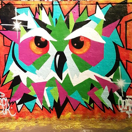 Street Art/Graffiti Art And Craft Multi Colored No People Day Indoors  Close-up