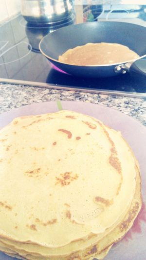 Making Pancakes! Lovely Gotta Buy Nutella ♥ 😂😂