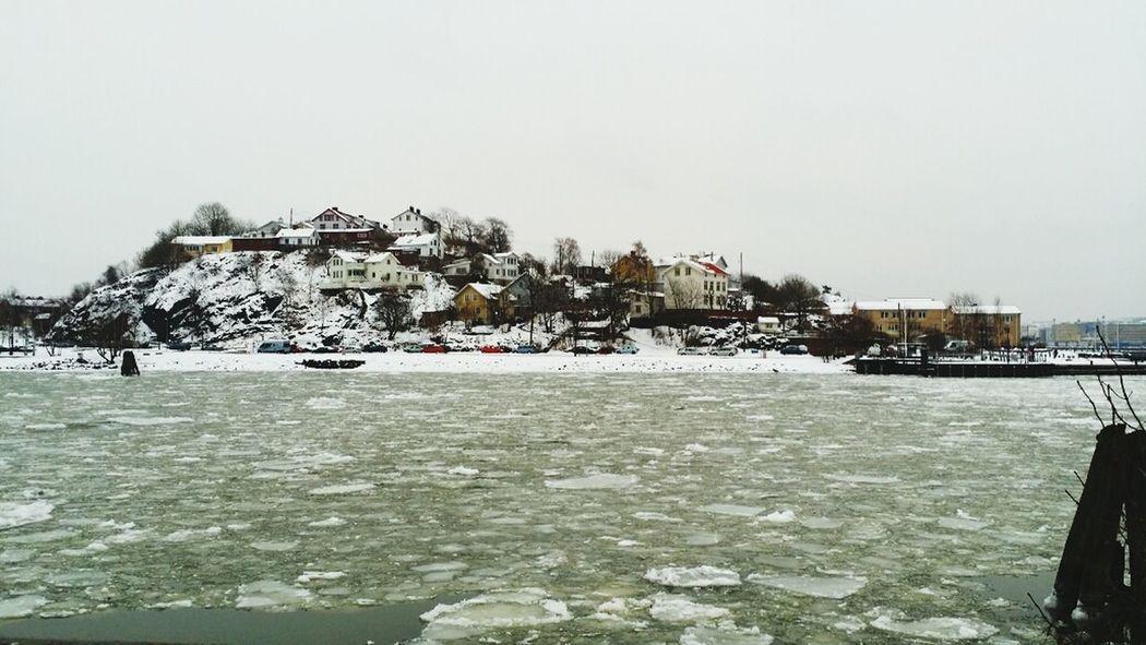 winters Day. ... Walking Around Lindholmen