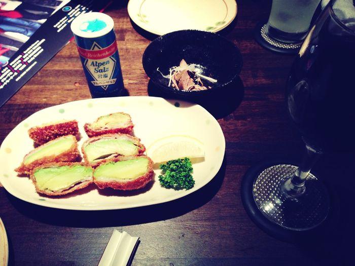 アボカド豚巻フライ Food Japanese Food