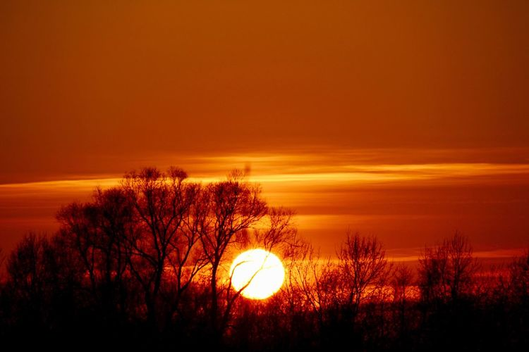 NOK Nordostseekanal Sonnenuntergang First Eyeem Photo