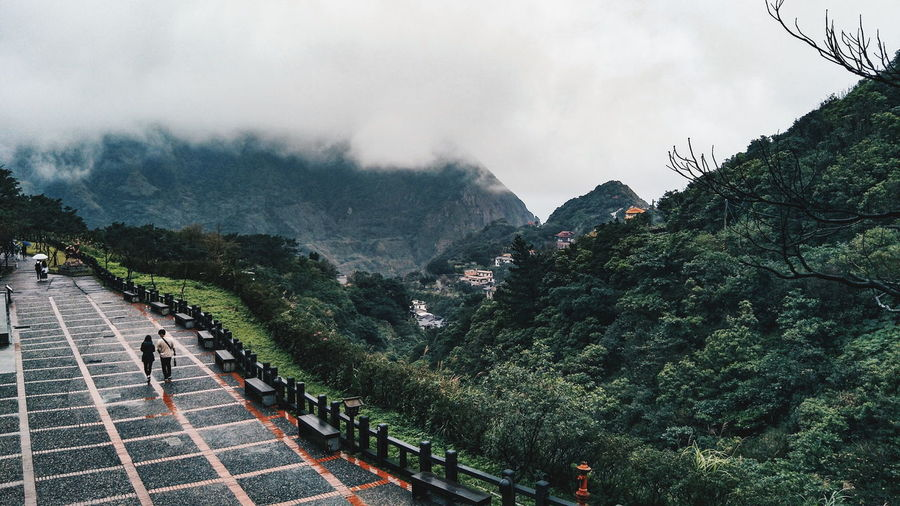 Lost In The Landscape Nature Outdoors Beauty In Nature Misty Day Tree Hiking Journey Culture Mountains Altitude Live Authentic Taiwan Scenery People Landmark Roadtrip Trail Lifestyle GoldMine Scenics Landscape Nature At Its Finest HikeNhype Connected By Travel EyeEmNewHere Perspectives On Nature Second Acts