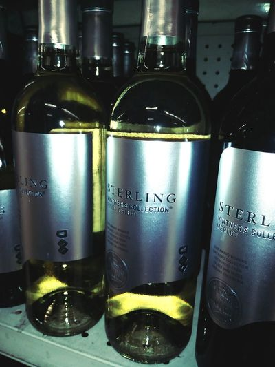 Bottles of Wine White Wine <3 Drunk Winetasting Drink Alcohol Liquid Bottle Wine Wine Bottle Close-up Food And Drink Condensation Label Information Various Text Capital Letter Western Script
