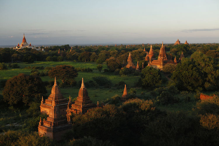 bagan, myanmar Spire  Archaeology Outdoors Ancient Civilization No People Tourism Nature Travel Plant Ancient Building Building Exterior The Past Travel Destinations History Tree Sky Spirituality Place Of Worship Architecture Built Structure Belief Religion Bagan, Myanmar Bagan