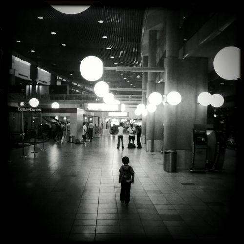 Solo Journey - Brisbane Domestic Airport