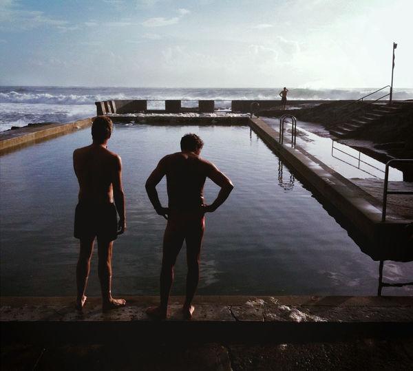 Morning Swim - Yamba