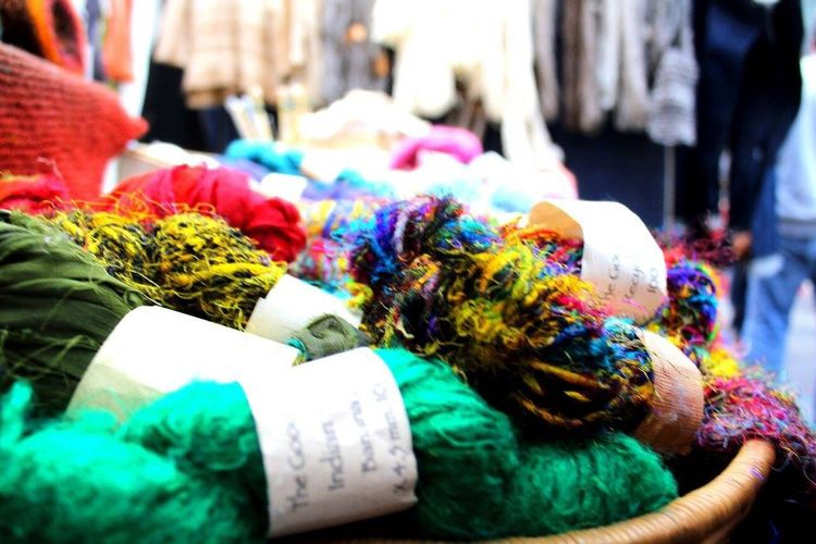 London Lifestyle Retail  For Sale Multi Colored Variation Close-up Choice Outdoors Market Stall Market Day No People