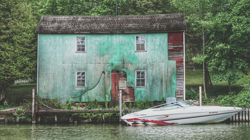 Port Dover Hdr_Collection Sony Alpha A5000 Nature_collection Lake Erie Boat The Great Outdoors - 2017 EyeEm Awards