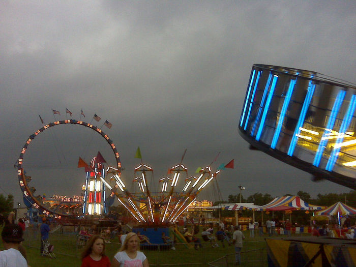 I took this right before a pour at the county fair.
