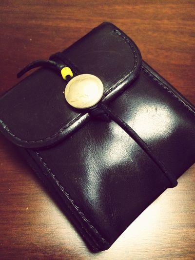 new財布のメンテも完了☆ Goros Leather 財布