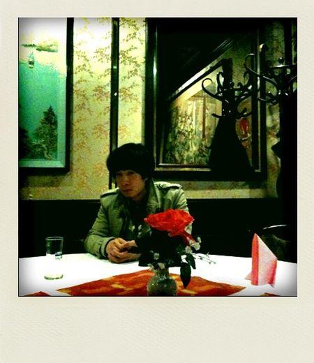 I met this Korean guy in this Korean restaurant. I think he was Vietnamnese.
