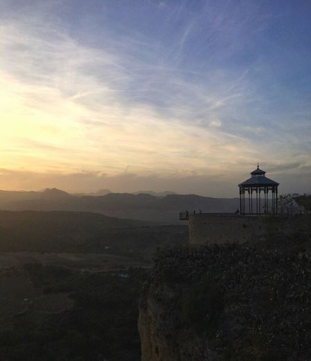 Mytinyatlas Sunset Sky Nature Beauty In Nature Spain Is Different Spain_beautiful_landscapes SPAIN Landscape Ronda