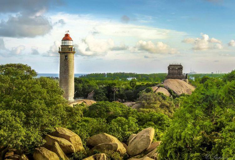 Lighthouse Green Historical Building Chennai Nikon Landscape Scenery Travel Photography