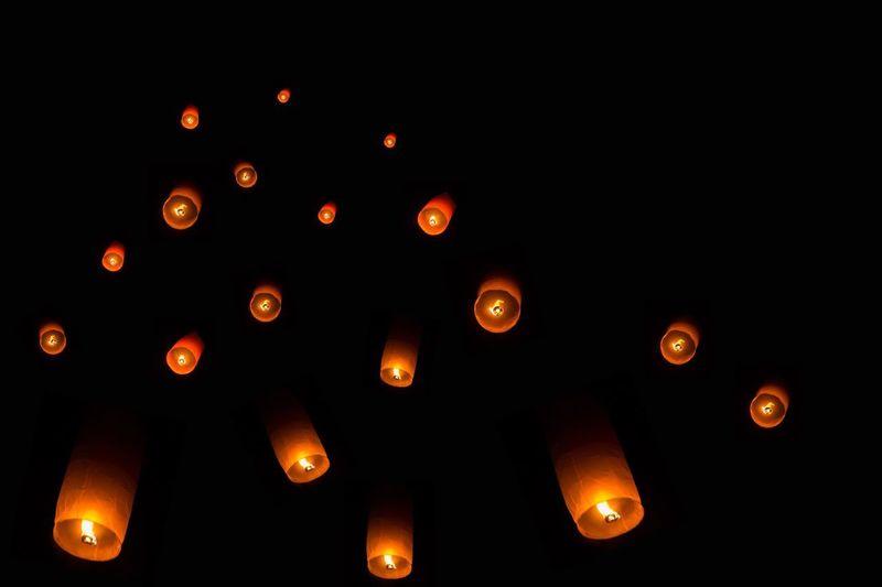 Floating lamp Buddhism Chiengmai Travelthailand Thailand Night Sky Holiday ล้านนา เชียงใหม่ Floating Lamp? My Best Travel Photo