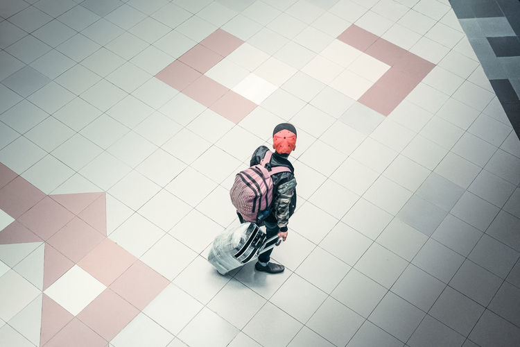 #urbanana: The Urban Playground On The Way Travel Airport Backpack Casual Clothing Luggage on the move One Man Traveller View From Above Be Brave A New Beginning Capture Tomorrow