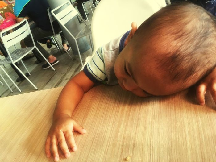 Sleep time Real People Indoors  Lifestyles Childhood Leisure Activity Baby Sleeping EyeEmNewHere