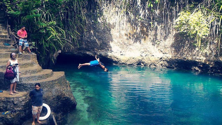 Adrenaline Junkie enchantedRiver Eyeem Philippines Hinatuan surigao del sur mobileshot zenfone2 Connected By Travel #FREIHEITBERLIN