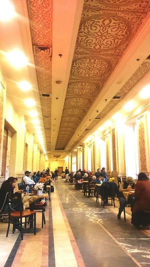 Food And Drink Foodcourt Waiting For The Train In Egypt Cairo Eyeem Travel Check This Out My Point Of View Travelegypt Cairo Egypt Hanging Out Enjoying Life People And Places People Enjoying The Day. People Drinking Coffe People Waiting For The Train The Street Photographer