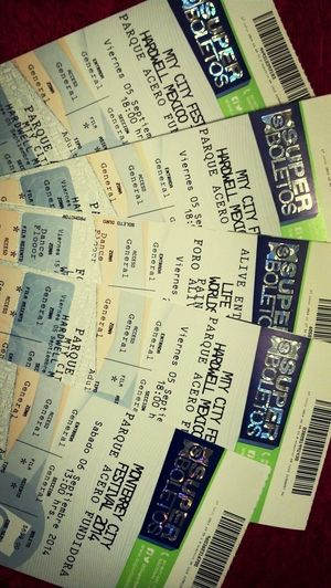 Tickets for Hardwell , Deftones & Life In Color . MonterreyCityFestival. Check This Out Concert Tickets