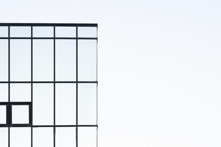 Minimalism Minimal Minimalobsession Minimalist Architecture Minimalist Copy Space No People Pattern Shape Geometric Shape Design Indoors  Day Sky Clear Sky Nature Architecture Built Structure Window Glass - Material Studio Shot White Background Wall - Building Feature Close-up Blank