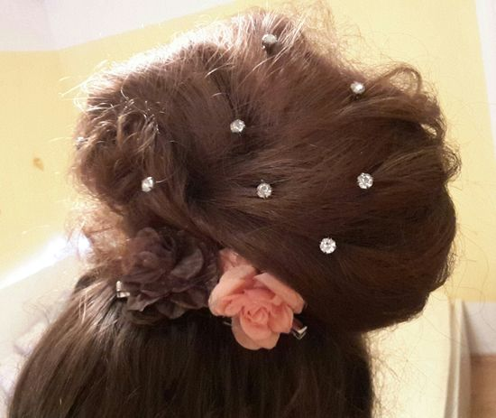 Hair Style Fashion Hair Selfie ✌ BrownHair Flowers Girl My Hair <3 Me Jewels