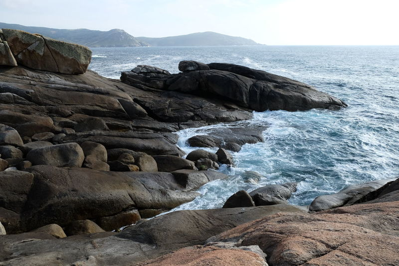 Beach Beauty In Nature Clear Sky Coastline Day Death Coast Eroded Galicia, Spain Horizon Over Water Muxía Nature No People Ocean Old Outdoors Rock Rock - Object Scenics Sea Sky Timeless Tranquil Scene Tranquility Water Wave