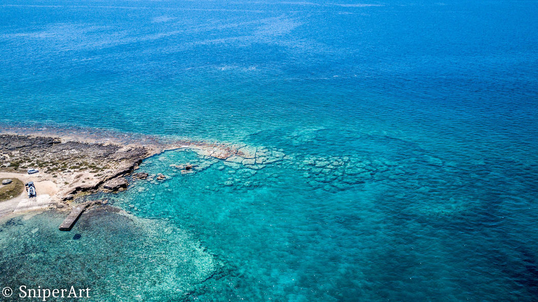 Aerial View Beach Beauty In Nature Blue Day High Angle View Nature No People Outdoors Scenics Sea Sky Tranquil Scene Tranquility Water