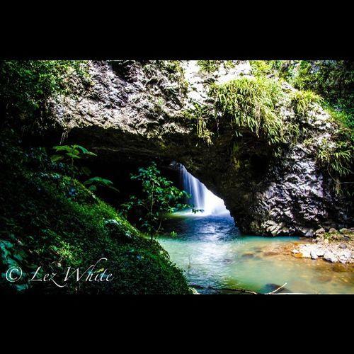 Australia Naturalbridge Waterfall QLD Transfer_vision Nikon Tamron