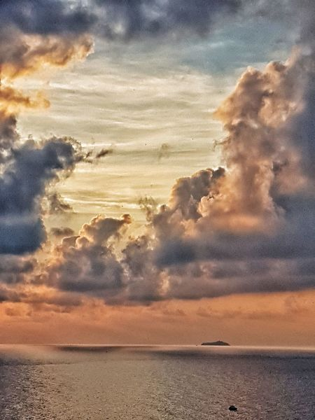 Sky Sunset Nature Cloud - Sky Beauty In Nature Landscape Outdoors Hikingadventures Beauty In Nature Adventure Water Day Cloud_collection  Cloud_collection  Funnyclouds Tranquility Nature Beauty Sunsetporn Panoramic Landscape Reflection Horizon View Horizontal Shot