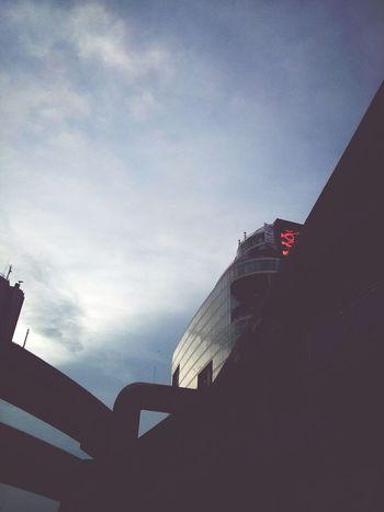 Dystopian Bangkok. · City Lights Minimalism