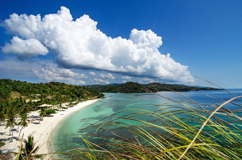 Cloud Nature Beach Beauty In Nature Cloud - Sky Clouds Idyllic Nature No People Outdoors Philippine Beaches Scenics - Nature Sea Seascape Sky Tranquil Scene Tranquility Travel Water