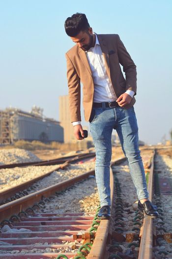 One Person Fashion Hello World Street Photography Style Street Fashion Enjoying Life Only Men Iraq Young Men
