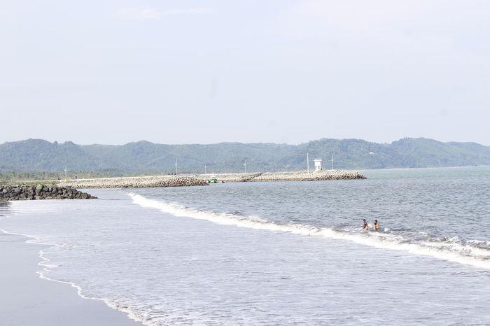 Landscapes With WhiteWall Pangandaran Beach Beach Beach Life Pangandaran West Java  INDONESIA Eyeemindonesia Amateurphotography INDONESIA