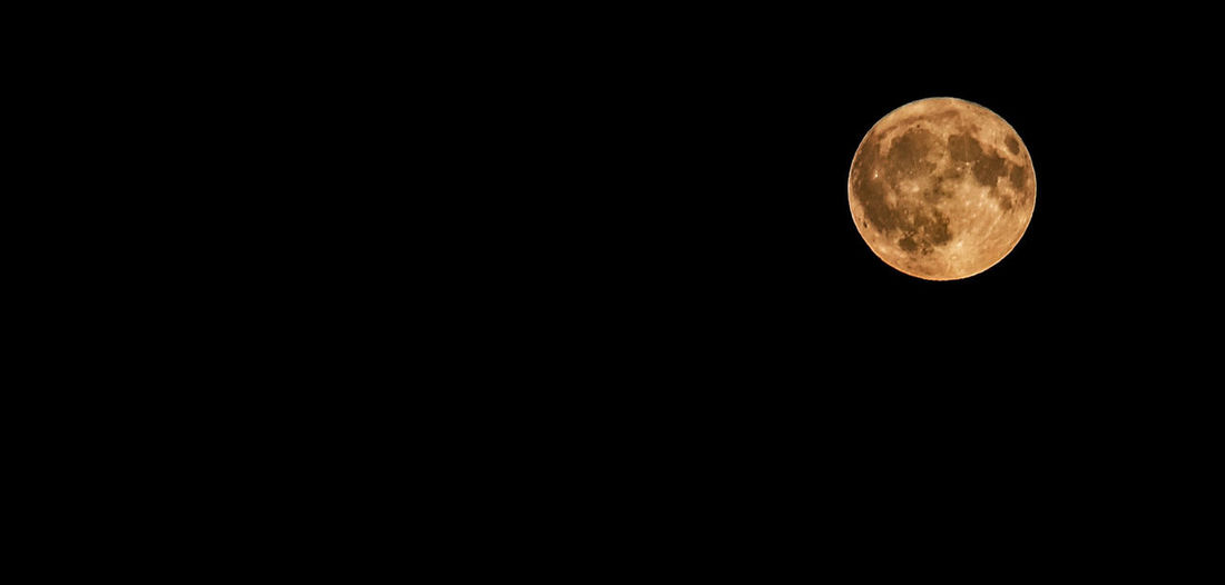 Harvest Moon October 5, 2017 Autumn Autumn Colors Harvest Moon October Astronomy Beauty In Nature Clear Sky Close-up Copy Space Fall Harvest Low Angle View Moon Moon Surface Nature Night No People Outdoors Planetary Moon Scenics Sky Space Space Exploration Tranquil Scene Tranquility