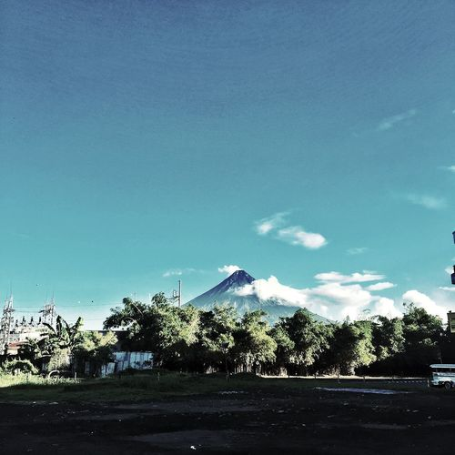 Mayon Volcano Daraga, Albay Philippines Mayon Volcano Philippines Sky Plant Nature Tree Cloud - Sky No People Day Beauty In Nature