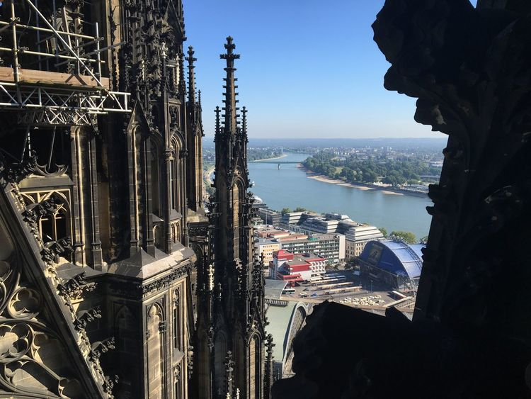 Nofilter Cologne , Köln,  Dom View Reihn Architecture Built Structure Blue Cityscape Tourism Day City Life Vacations Love
