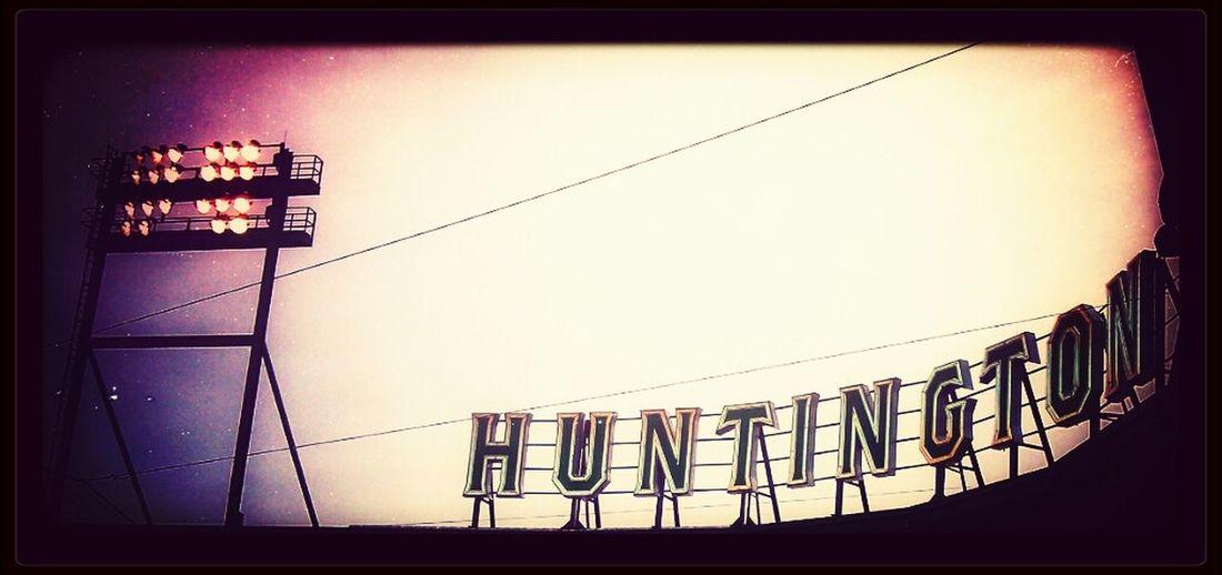 Huntington Field, home of the Columbus Clippers Baseball Team. Baseball Snapseed Columbus Clippers  Huntington Park