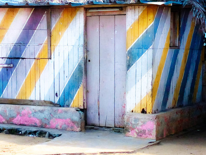 Architecture Building Exterior Built Structure Close-up Corrugated Iron Day Multi Colored No People Outdoors Street Colors Weathered