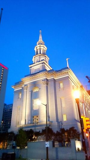 Illuminated Night Architecture Travel Destinations Built Structure Religion No People Place Of Worship Church Exterior Church Building Exterior