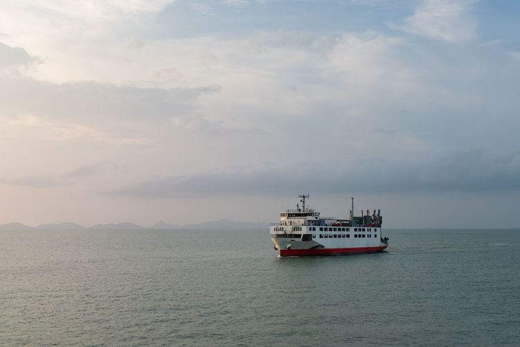 Huge boat or