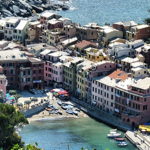 Vernaza Cinqueterre Litoral Mar mediterraneo italia