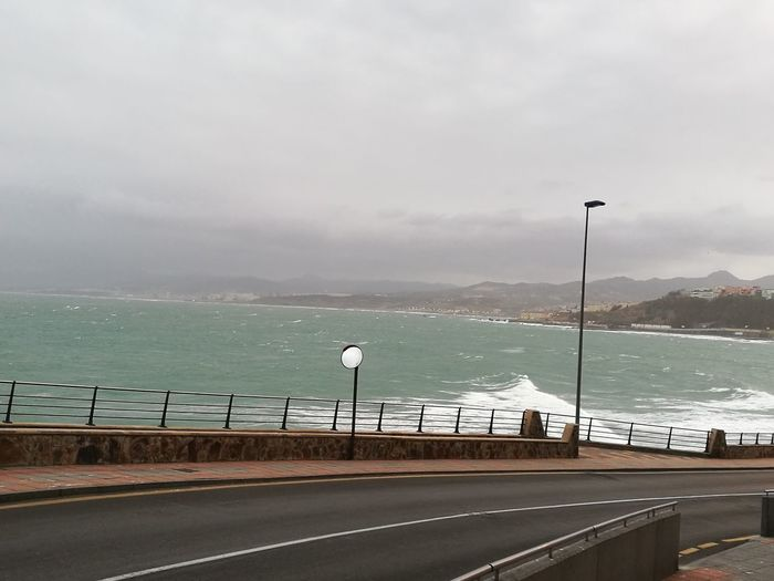 Sea Extreme Weather High Winds Temporal Levante Viento