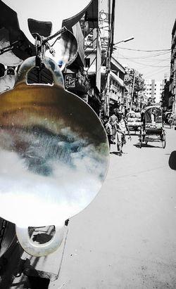 Streetphotography Blackandwhite Partial Silhouette Partialcolour LifeinDhaka Dhaka Bangladesh Mobilephotography Mobile Photography
