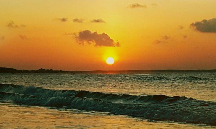 City of Salinópolis, Atalaia Beach, State of Pará, Amazon, Brazil. Sunset Sea Beach Sun Beauty In Nature Scenics Nature