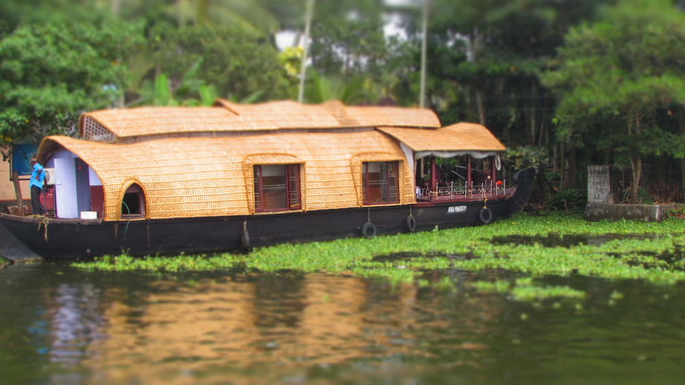 Karala India Boat River Countryside
