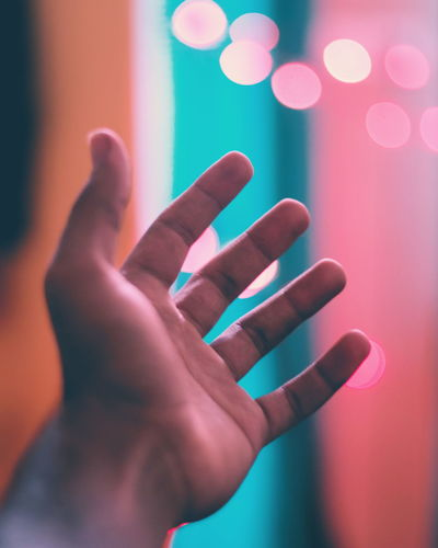Chasing The Light  Human Hand Human Body Part One Person Only Men Adults Only Modern Close-up Bokeh Indoors  No People Freshness EyeEm Selects EyeEmNewHere EyeEmSelect City The Great Outdoors - 2017 EyeEm Awards Young Adult Men Adult People