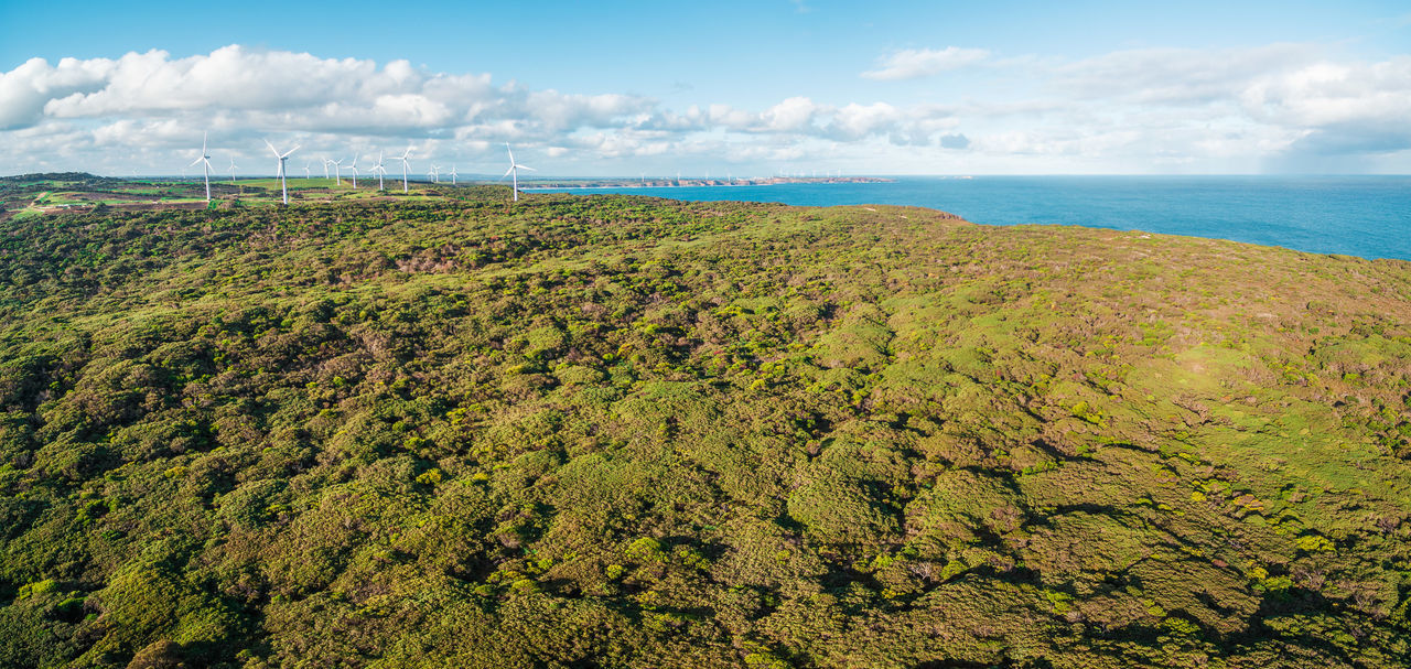 Australia Australian Landscape Landscape_Collection Nature Aerial Aerial Landscape Aerial View Beauty In Nature Cloud - Sky Day Drone Photography Green Color Horizon Over Water Landscape Landscape_photography Nature No People Outdoors Scenics Sea Sky Tranquil Scene Tranquility Water